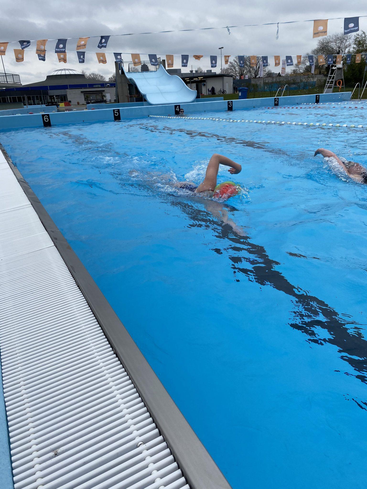 Weer zwemmen